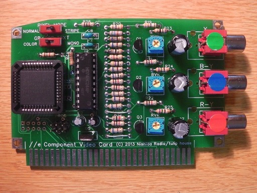 Apple IIe Component Video Card